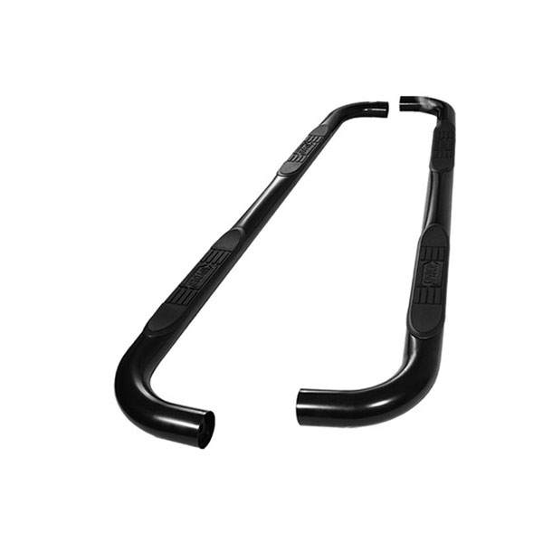 xTune SSB-FF-A07S0508T-BK:  Ford F150/250LD Super Cab 97-03 & 04 Heritage Edition - 3 Inch Round Side Step Bar - Powder Coated - Black