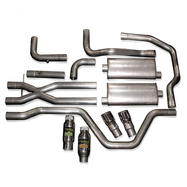 Stainless Works SSRTDOR:  Chevy SSR 2003-2006 Exhaust True Dual Off-Road