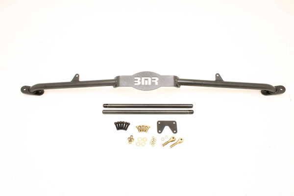 BMR Suspension STB004: BMR Strut tower brace, 3 point mount, 1982-1992 Firebird Tuned Port only V8