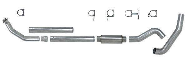 Pypes Exhaust STD052: Pypes Diesel Truck 1994-2002 Dodge 5.9L 2500/3500 4'' Down Pipe 5'' System, Stainless