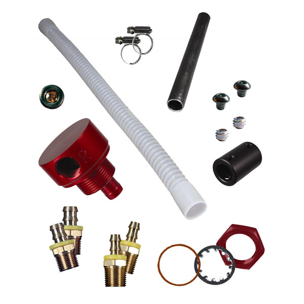 FASS STK-1003 | Diesel Fuel Module Suction Tube Kit Includes Bulkhead Fitting; 1998-2002