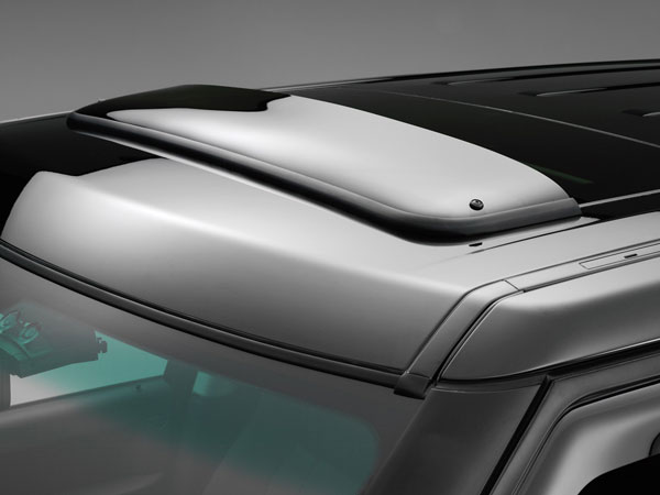 WeatherTech 89016 |  Sunroof Wind Deflectors Jaguar S-Type - Dark Smoke; 2000-2008