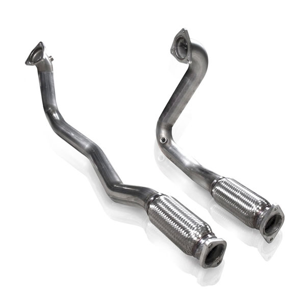 Stainless Works TA10ECODP:  2010-15 Ford Taurus SHO Downpipe ( Off-Road )