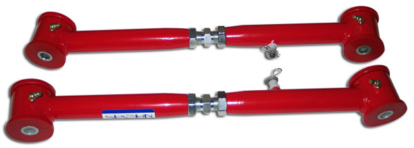 Spohn Performance TB-604: Spohn Adjustable Tubular Rear Upper Control Arms, 2002-2009 GM TrailBlazer, Envoy, SSR
