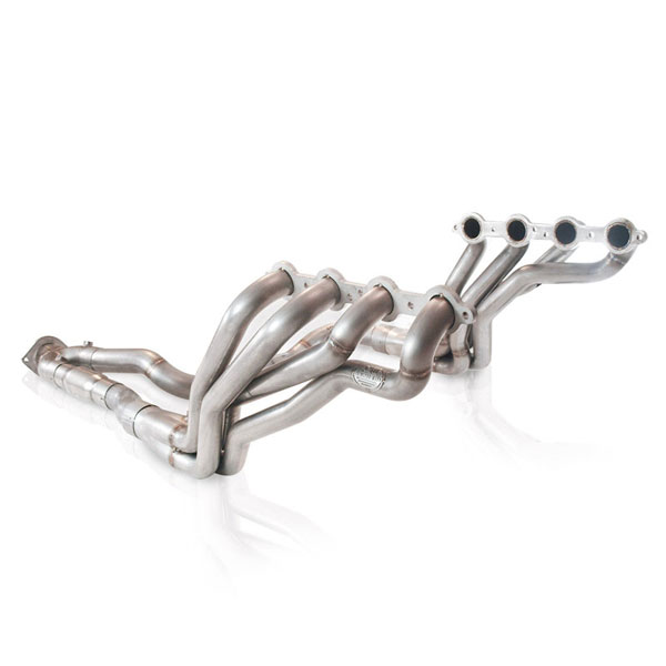 Stainless Works TBSSY:  Chevy Trailblazer SS 2006-09 Headers Y-Pipe Catted