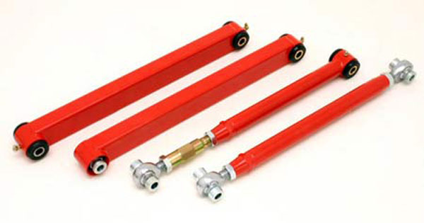 BMR Suspension TCA019 | BMR Tubular Control Arms w/ poly bushings Mustang V8/V6; 2005-2011