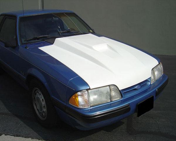 Trufiber TF10021-A37 |  Mustang Fiberglass Hood: 3 Cowl SVO; 1987-1993