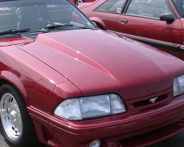 Trufiber TF10021-A49-3 |  Mustang Fiberglass Hood: 1987-1993 3 Cowl Induction