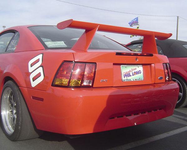Trufiber TF10023-DCA34    Mustang Fiberglass Spoiler: Cobra R V8; 1999-2004