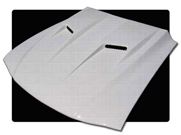 Trufiber TF22-A38 |  Mustang Mach 2 Heat Extraction Hood V6; 1994-1998