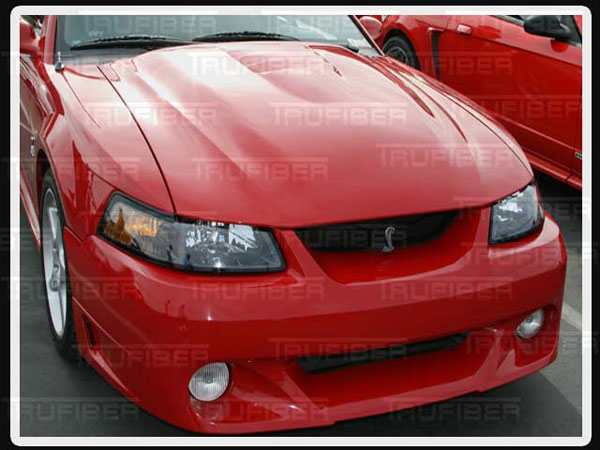 Trufiber TF23-A31:  1999-2004 Mustang Cobra R 2000 Heat Extraction Hood TF10023-A31 V8
