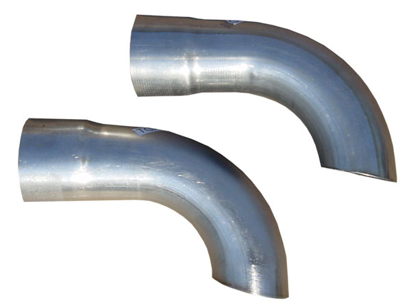 Pypes Exhaust TGA13E | Pypes A Body Side Extension Kit; 1964-1972