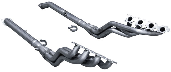 American Racing Headers TOY-08134300LSWC: 2008-2013 Toyota Land Cruiser Long System: 1-3/4 x 3 Header Pair, 3x3 Connection Pipes With Cats*Fits Lexus LX570