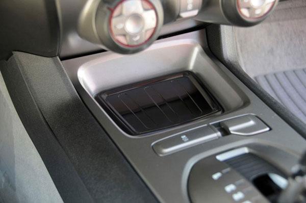 T-Rex 110271    Chevrolet Camaro (LS / RS) - T1 Interior Center Console Tray - Black; 2010-2013