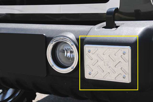 T-Rex 11484 |  Jeep Wrangler - T1 Series Billet Exterior - Front Bumper Guards Plate - 2 Pc; 2007-2013