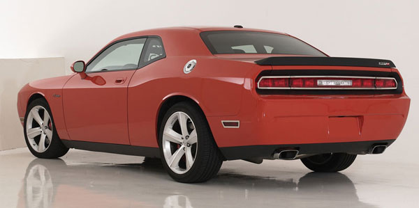 T-Rex 12416 |  Dodge Challenger (ALL) - T1 Series Tail Light Trim - Poished Stainless Steel - 4 Pc; 2009-2012