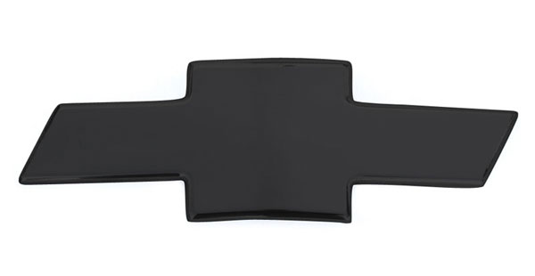 T-Rex 19051B:  Chevrolet Tahoe, Suburban, Avalanche 2007 - 2013 Billet Bowtie - Plain - All Black