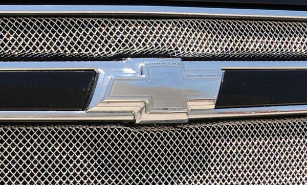 "T-Rex 19052 |  Chevrolet Tahoe, Suburban - Billet Bowtie - w/Border - Polished (8"" Length); 2007-2013"