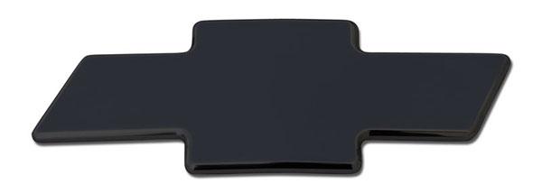 T-Rex 19101B    Chevrolet Silverado (All Models Except 05 HD) 2003 - 2006 Billet Bowtie - Plain - All Black