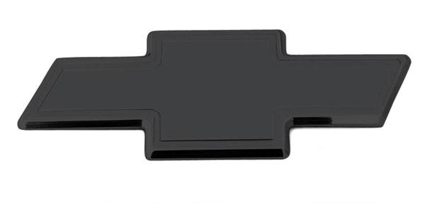 T-Rex 19113B |  Chevrolet Silverado 1500 & 07-10 HD 2007 - 2013 Billet Bowtie - Rear - w/Border - All Black