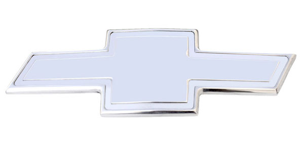 T-Rex (19114)  Chevrolet Silverado HD 2011 - 2012 Billet Bowtie - w/Border - Polished