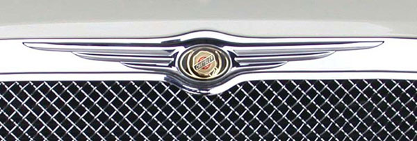 T-Rex 19471 |  Chrysler 300 (All) 2005 - 2010 OE Logo can be installed on grilles 20472, 54471, 70471, 54479 & 80471