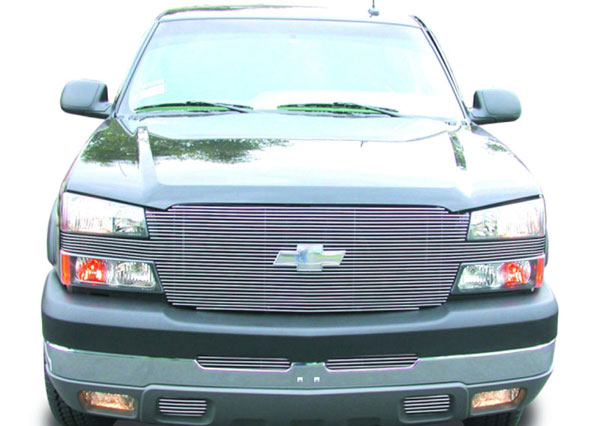 T-Rex 20101 |  Chevrolet Silverado (All Models Except 05 HD) 2003 - 2005 ''Full Face'' Billet - Replaces Factory Grille Shell