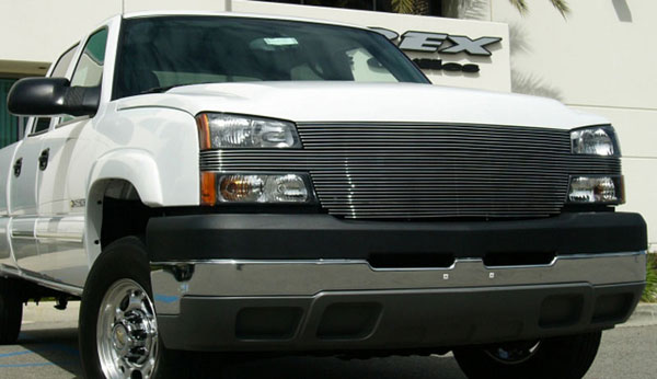 T-Rex 20107:  Chevrolet Silverado 2500HD, 3500 (All 2006 Models) 2005 - 2006 ''Full Face'' Billet - Replaces Factory Grille Shell