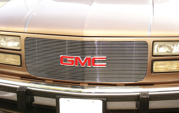 T-Rex 20150:  GMC Pick Up 94-99 Suburban/Yukon 1994 - 1998 Billet Grille Insert - 30 Bars Flush Mount Style
