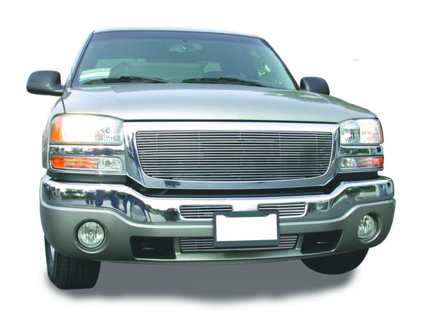 T-Rex 20200:  GMC Sierra (All Models except C3) 2003 - 2006 Billet Grille Insert (19 Bars)