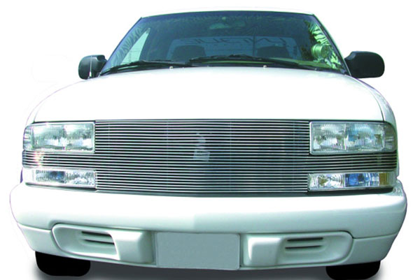 T-Rex 20277:  Chevrolet S10 Pick Up 98-2005 Blazer 1998 - 2004 ''Full Face'' Billet - Replaces Factory Grille Shell (25 Bars)