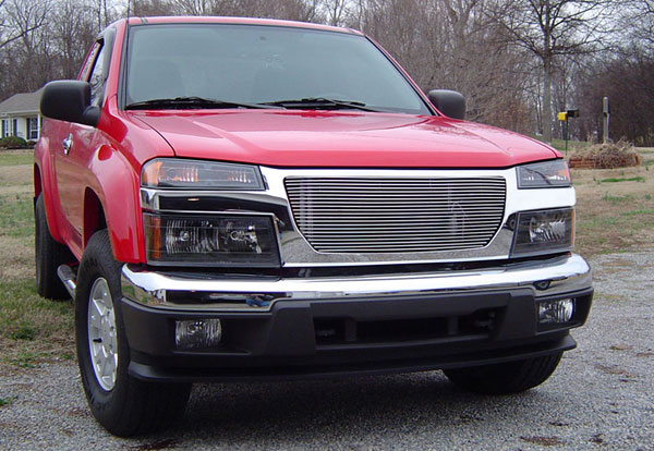 T-Rex 20370:  GMC Canyon 2004 - 2013 Billet Grille Insert (21 Bars)