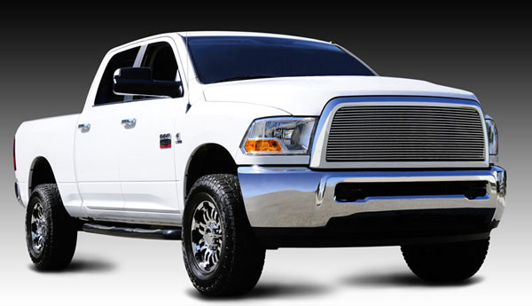 T-Rex 20451:  Dodge Ram Pick Up 2500 / 3500 2010 - 2012 Billet Grille Insert- 1 Pc