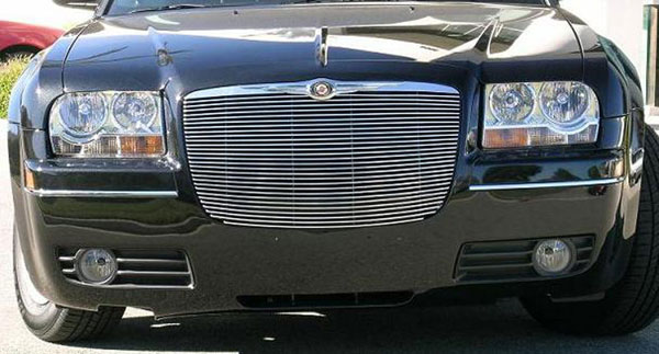 T-Rex 20472:  Chrysler 300 (All) 2005 - 2010 Billet Grille Insert - w/ Pol. Billet Molding - Replaces factory grille (28 Bars)