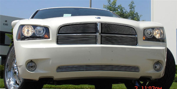 T-Rex 20475:  Dodge Charger 2005 - 2010 Billet Grille Insert - 4Pc
