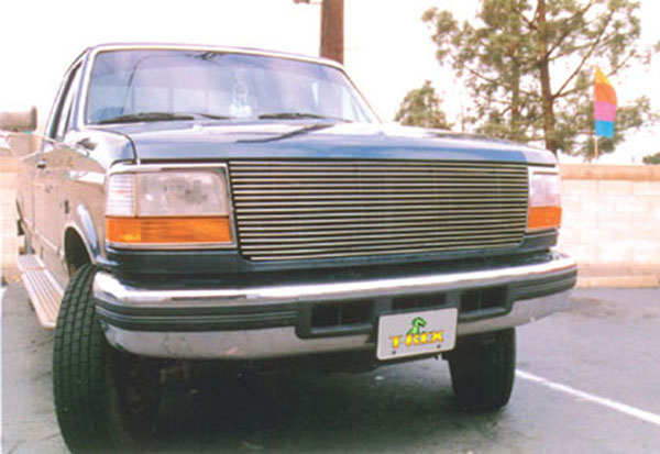 T-Rex 20535:  Ford F Series Pick Up Bronco ( 97-98 F250/350) 1992 - 1996 Billet Grille Insert - Replaces Factory Grille Shell (24 Bars)