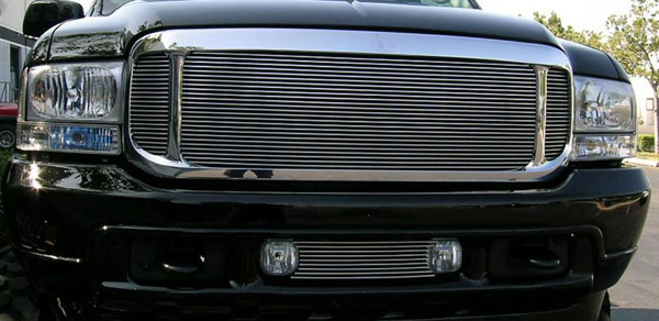 T-Rex 20585:  Ford Excursion 2000 - 2004 Billet Grille Insert - 3 Pc - Excursion Only