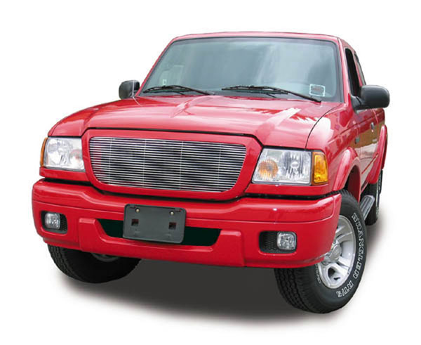 T-Rex 20660:  Ford Ranger All Models 2004 - 2005 Billet Grille Insert - Full Opening - Fits All Models (21 Bars)