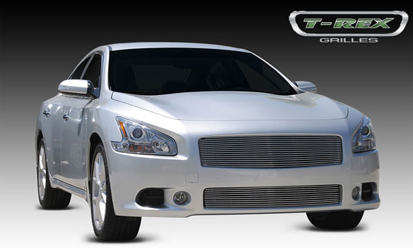 T-Rex 20758:  Nissan Maxima 2009 - 2012 Billet Grille Insert - Replaces Factory Grille Shell