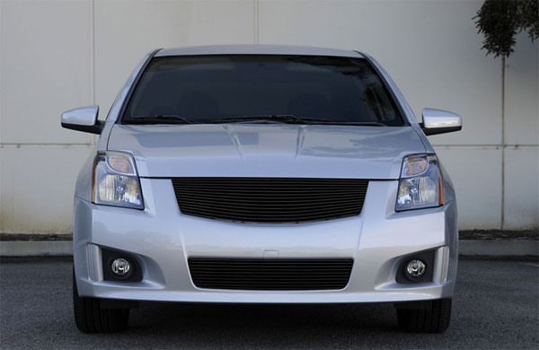 T-Rex 20764B:  Nissan Sentra 2.0 SR, SE-R 2008 - 2012 2008-2012 Nissan Sentra SE-R and 2.0 SR Billet Grille Insert - fits Sport Grille and Sport fascia - Replaces OE Grille - All Black