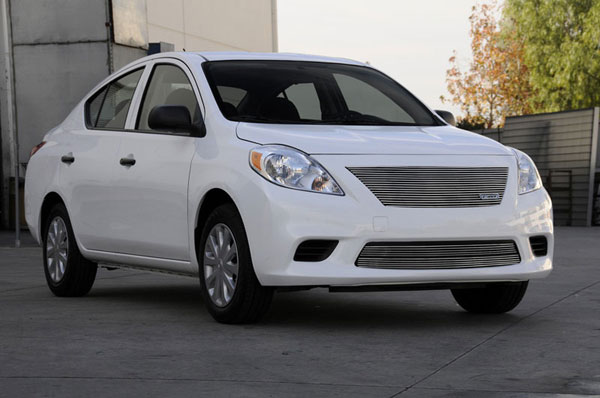 T-Rex 20775    Nissan Versa Sedan - Billet Grille Insert; 2012-2012