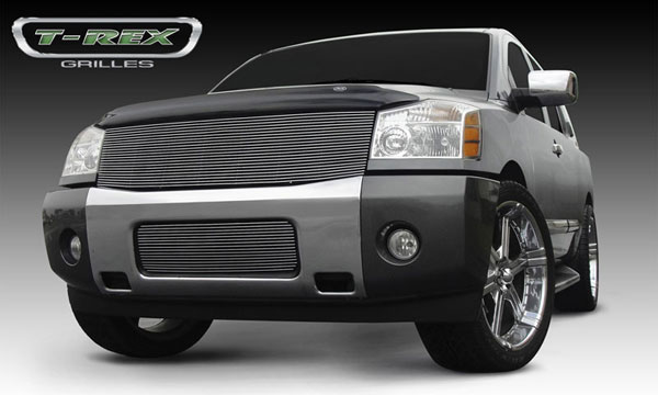 T-Rex 20780:  Nissan Titan (04-07 Armada) 2004 - 2012 Billet Grille Insert - 1 Pc (Replaces Grille Shell) (22 Bars)