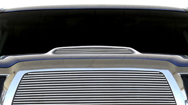 T-Rex 20897:  Toyota Tacoma, 06 4-Runner 2006 - 2010 Billet Hood Scoop Insert - 1 Pc (4 Bars)