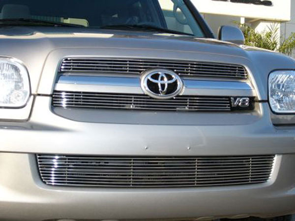 T-Rex 20901:  Toyota Sequoia 2005 - 2007 Billet Grille Insert - 2 Pc (5, 10 Bars)