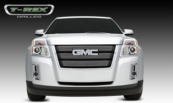 T-Rex 21154 |  GMC Terrain 2010 - 2012 Billet Grille Overlay/Bolt On - 3 Pc - W/ Logo Opening