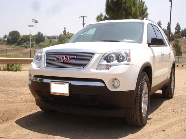 T-Rex 21386:  GMC Acadia 2007 - 2012 Billet Grille Overlay/Bolt On - W/ Logo Opening
