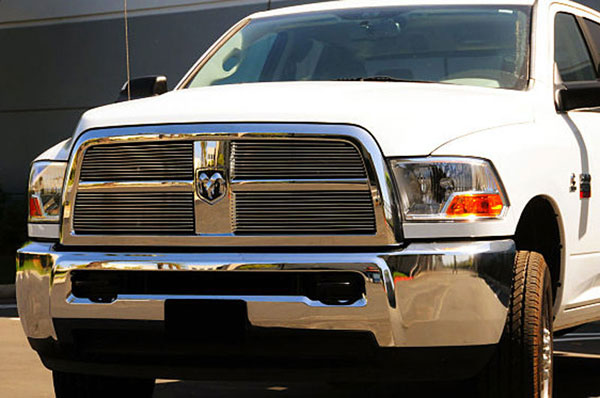 T-Rex (21451)  Dodge Ram Pick Up 2500 / 3500 2010 - 2012 Billet Grille Overlay and Insert- 4 Pc