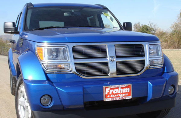 T-Rex 21478:  Dodge Nitro 2007 - 2010 Billet Grille Overlay/Bolt On - 4 Pc
