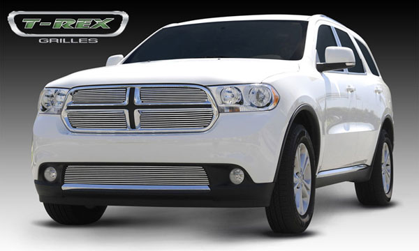 T-Rex (21491)  Dodge Durango 2011 - 2013 Billet Grille Overlay/Bolt On - 4 Pc
