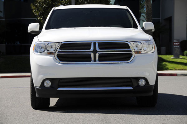 T-Rex 21491B:  Dodge Durango 2011 - 2013 Billet Grille Overlay/Bolt On - 4 Pc - All Black